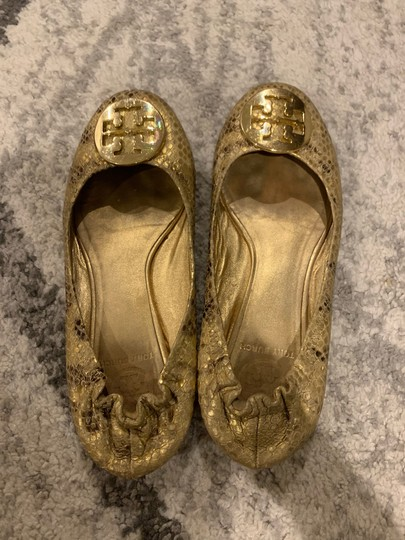 Tory Burch gold and yellow Flats Image 1