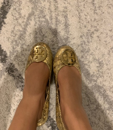 Tory Burch gold and yellow Flats Image 2