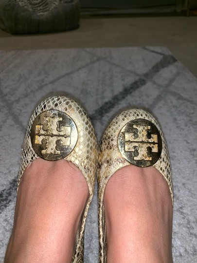 Tory Burch gold and yellow Flats Image 4
