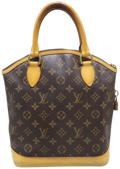 Louis Vuitton Lv Monogram Vertical Lockit Pm Tote in Brown Image 0