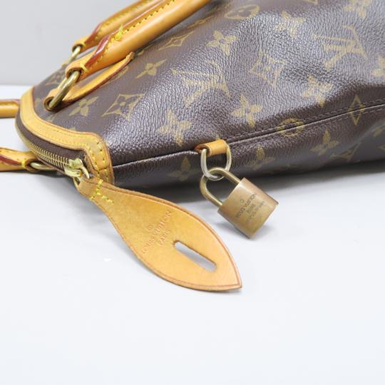 Louis Vuitton Lv Monogram Vertical Lockit Pm Tote in Brown Image 7