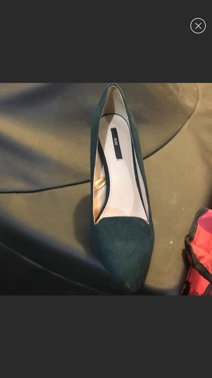 Forever 21 emerald green Pumps Image 1