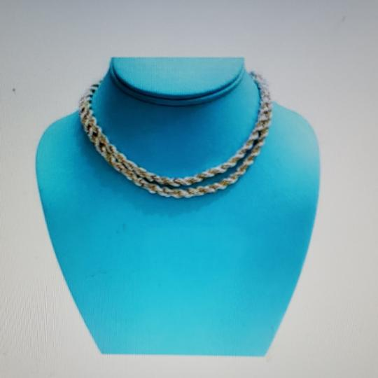 Preload https://item5.tradesy.com/images/tiffany-and-co-silvergold-twisted-rope-chain-necklace-25600829-0-2.jpg?width=440&height=440
