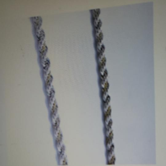 Tiffany & Co. Tiffany Silver/Gold Twisted Rope chain Image 5
