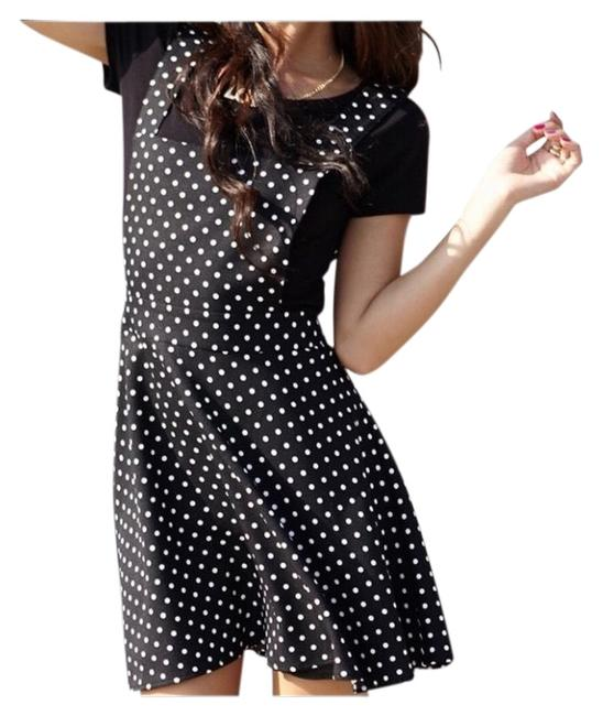 Preload https://img-static.tradesy.com/item/25600852/forever-21-black-white-overalls-with-polka-dots-short-casual-dress-size-4-s-0-1-650-650.jpg