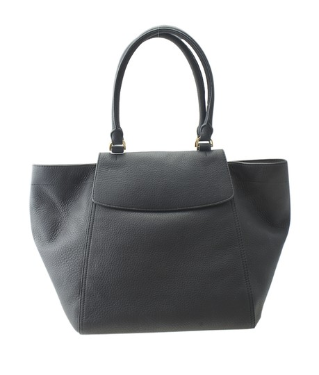 Tory Burch Leather Satchel in Black Image 2