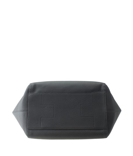 Tory Burch Leather Satchel in Black Image 5