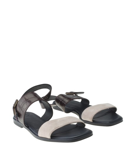 Tory Burch Suedexleather Multi-Color Sandals Image 1