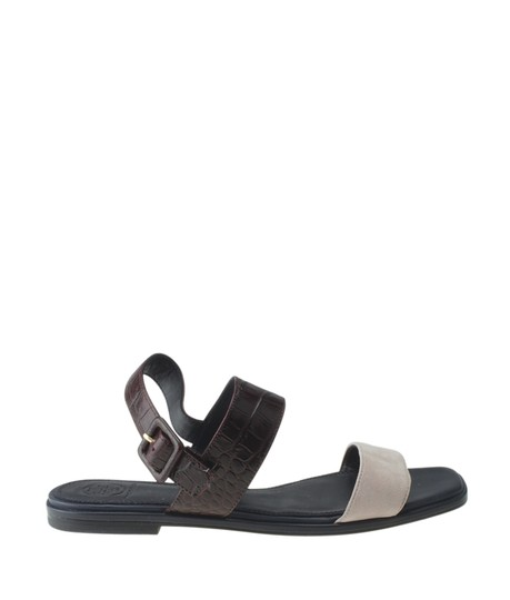 Tory Burch Suedexleather Multi-Color Sandals Image 2