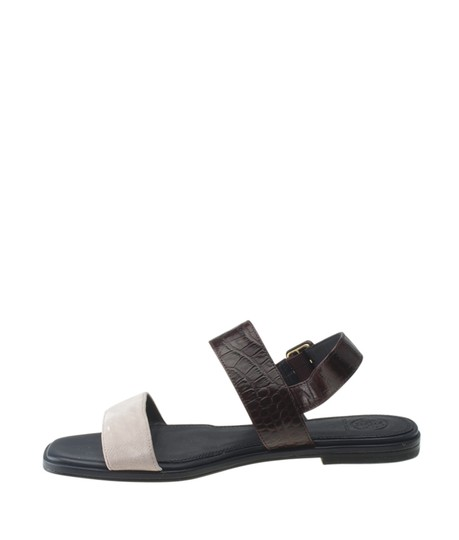 Tory Burch Suedexleather Multi-Color Sandals Image 3