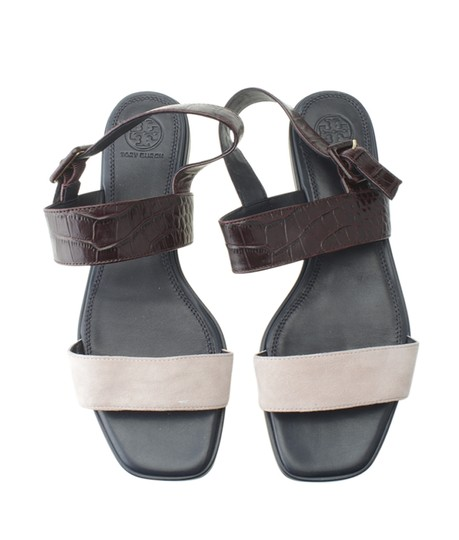 Tory Burch Suedexleather Multi-Color Sandals Image 4