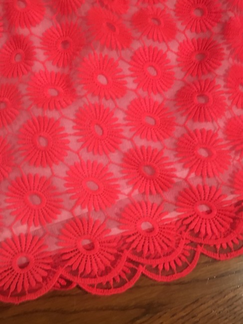 Lilly Pulitzer Mini Skirt Coral Image 1