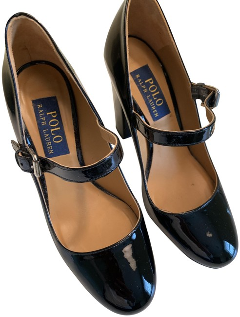 Item - Black Patent Leather Pumps Size US 6 Regular (M, B)