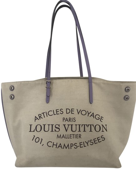 Preload https://img-static.tradesy.com/item/25602039/louis-vuitton-neverfull-neverfull-limited-edition-beige-lavender-lining-cotton-canvas-tote-0-1-540-540.jpg
