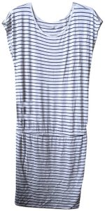 Soft Joie short dress White Striped Mini on Tradesy