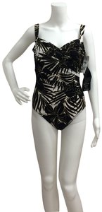 Miraclesuit Miracle Suit Sanibel Black and White One Piece Bathing Suit