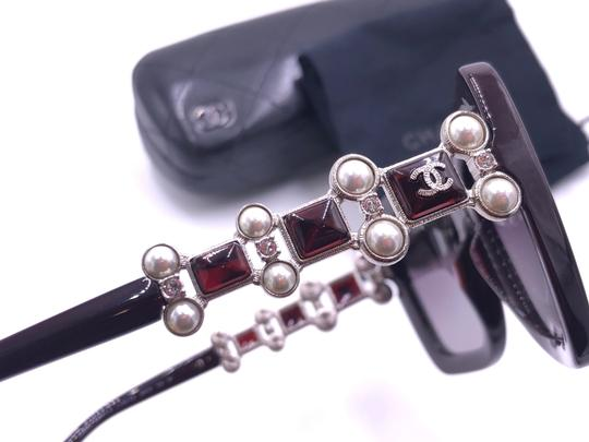 Chanel CHANEL BIJOU LIMITED EDTN 5335HB C.1461/K5 CRYSTALS PEARLS POLARIZED Image 4
