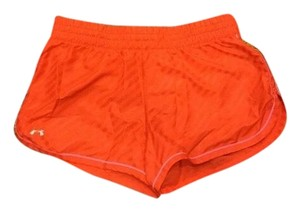 Under Armour Under Armour Heatgear Womens Shorts XS Orange & Pink Built In Panty Running