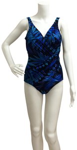 Miraclesuit Miraclesuit Oceanus Blue One piece Bathing Suit