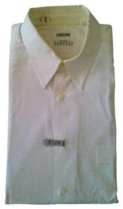 Lorenzini Barneys New York Barney's New York Men's Dress Shirt White Size L17 43
