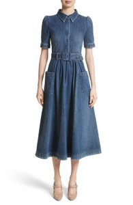 Blue Maxi Dress by Co Tory Burch Isabel Marant Tibi Alexander Wang Dvf