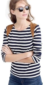 J.Crew T Shirt blue and white