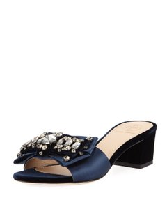 Tory Burch Valentina royal navy Sandals