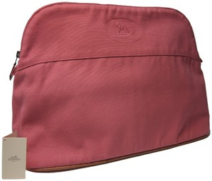 Hermès Hermes bolide Rose Pink cosmetic pouch bag
