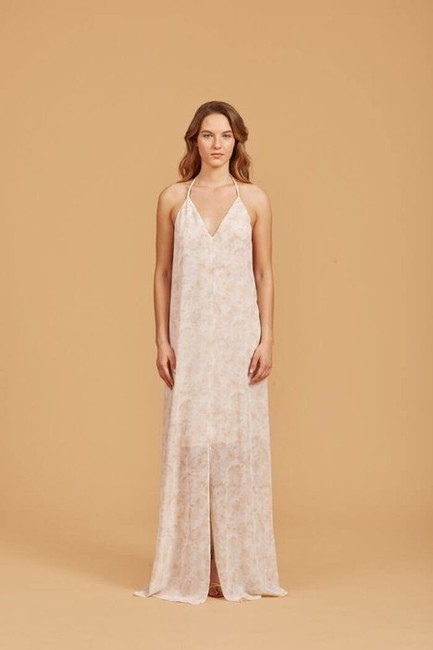Item - Nude Phoenix Na362 Casual Bridesmaid/Mob Dress Size 8 (M)