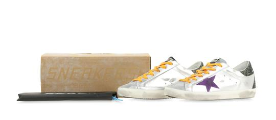 Golden Goose Deluxe Brand Silver Athletic Image 11