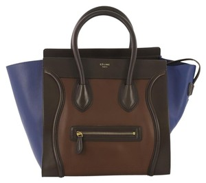 Céline Tricolor Handbag Shoulder Bag