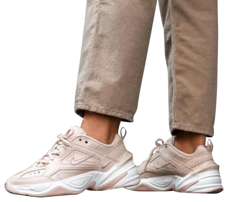 a813991e5b2 Nike Beige Women's M2k Tekno Particle Features A Futuristic Heel Clip and  Plush Comfortable Tongue. A Leather Sneakers Size US 9.5 Narrow (Aa, N) ...