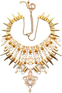 Kendra Scott KENDRA SCOTT Seraphina Rose Gold MOP & Crystal Statement Necklace