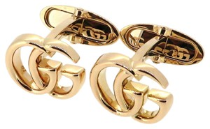 Gucci GUCCI Italy 18k Solid Yellow Gold Mens Cufflinks