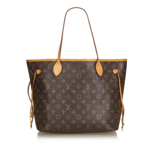 Louis Vuitton 9dlvto051 Vintage Tote in Brown