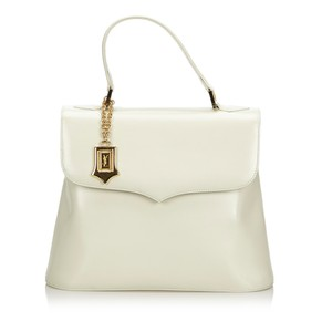 bf1bd969b5e White Leather Saint Laurent Shoulder Bags - Up to 70% off at Tradesy
