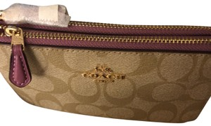 Coach F87591 Double Zip Wristlet