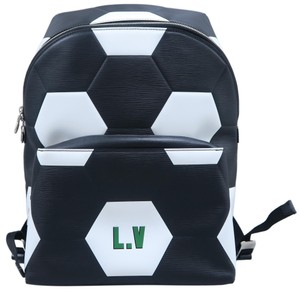 Louis Vuitton Lv Apollo World Cup Black Epi Backpack