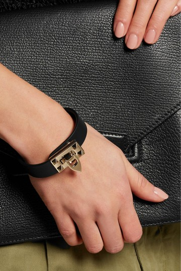 Valentino Small Leather Rockstud Flip-Lock Bracelet Image 1
