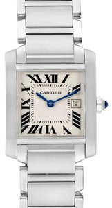 Cartier Cartier Tank Francaise Midsize Silver Dial Ladies Watch W51011Q3