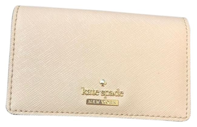 Item - Black & Cream Two Tone Leather Wallet