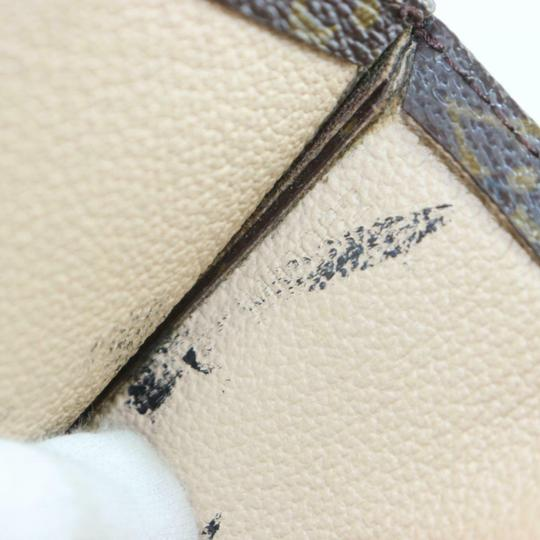 Louis Vuitton Canvas Leather Monogram Tote in Brown Image 8