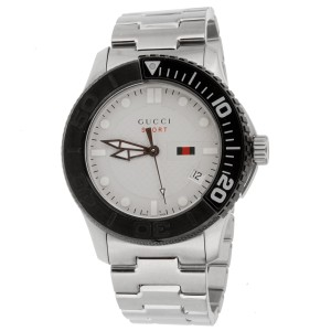 Gucci Gucci G-Timeless Silver Dial Men's Watch 1155