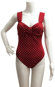 Anne Cole Anne Cole Red Polka Dot One piece Bathing suit