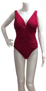 Miraclesuit Miraclesuit Sonatina Berry Red One piece Bathing Suit