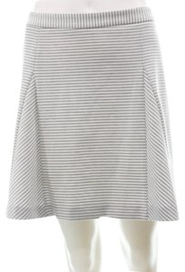 Michael Kors Mini Skirt grey & white