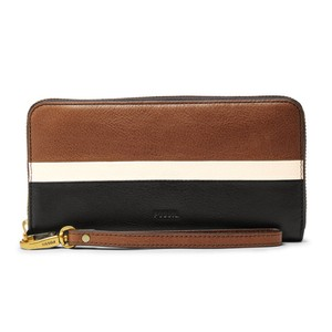 Fossil Fossil Emma RFID Large Zip Wallet Clutch