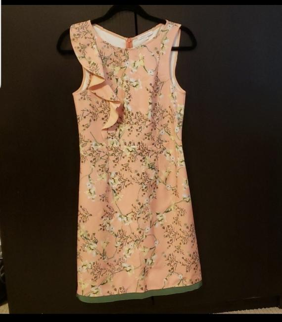 Patrizia Pepe short dress Pink Sleeveless Floral European on Tradesy Image 1