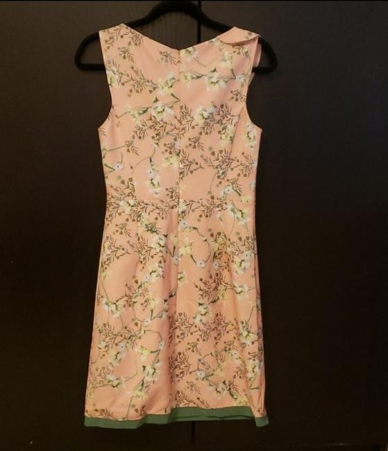 Patrizia Pepe short dress Pink Sleeveless Floral European on Tradesy Image 3