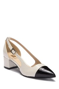 Bruno Magli black/ivory with tag Pumps
